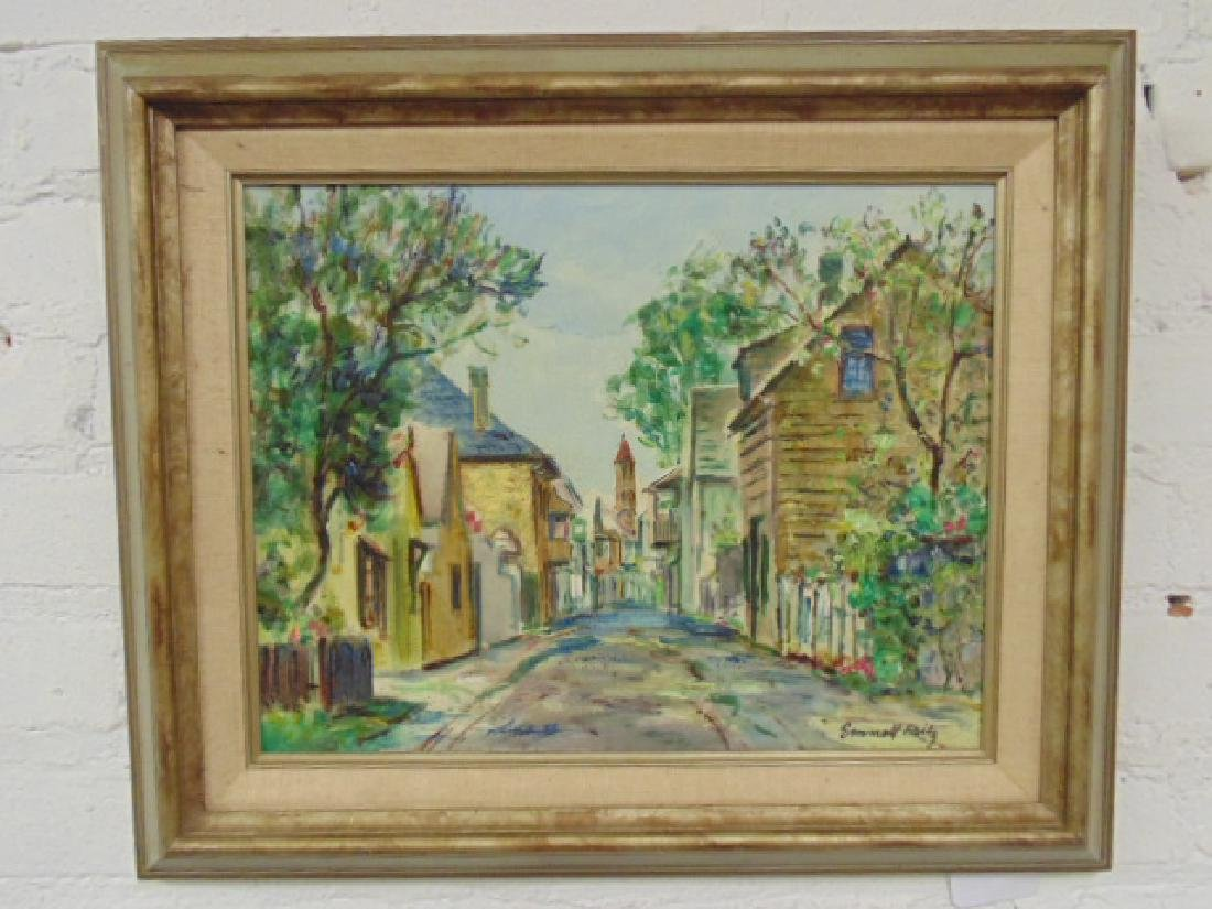 "Painting, Emmett Fritz, ""St. George Street, St."