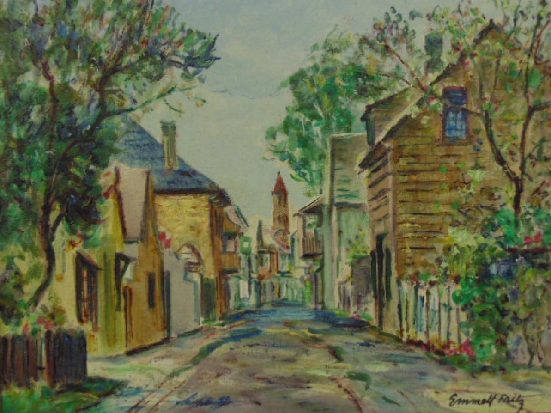 "Painting, Emmett Fritz, ""St. George Street, St. - 2"
