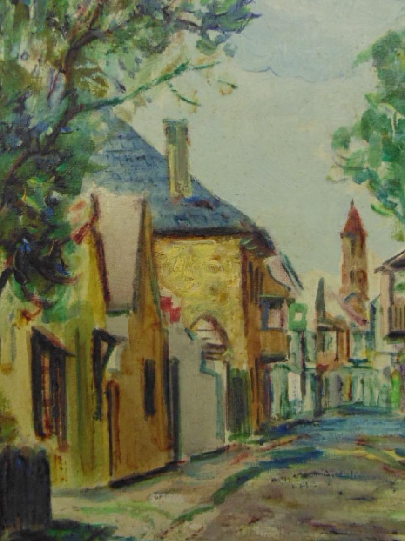 "Painting, Emmett Fritz, ""St. George Street, St. - 3"
