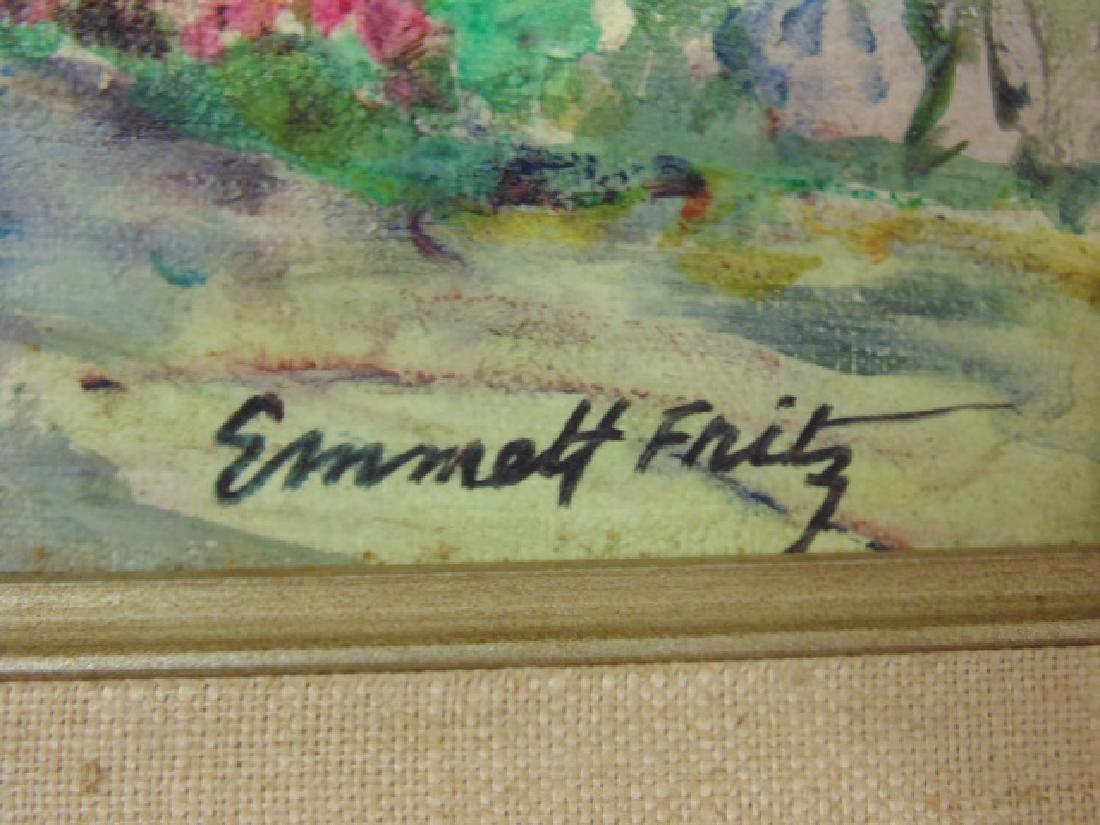 "Painting, Emmett Fritz, ""St. George Street, St. - 4"