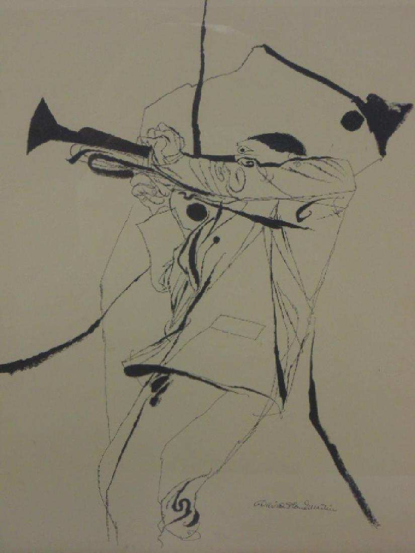Pair prints, David Stone Martin, Jazz musicians - 2