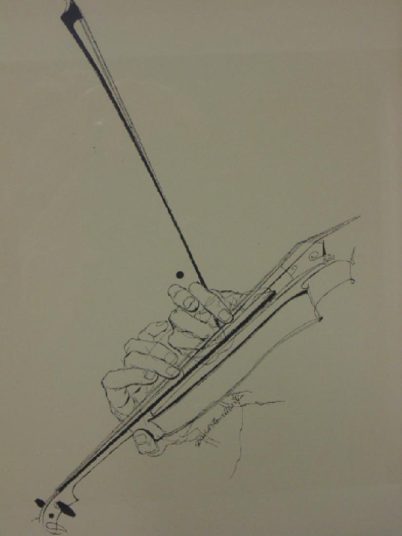 Pair prints, David Stone Martin, Jazz musicians - 3