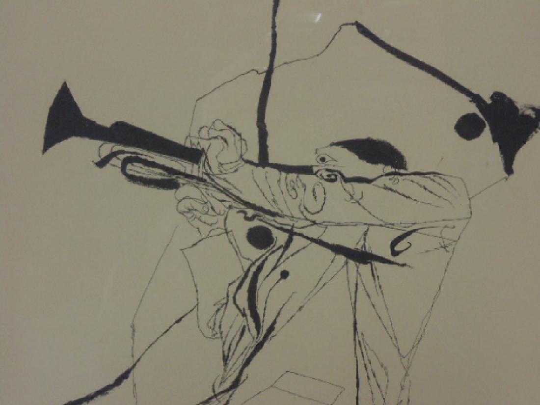 Pair prints, David Stone Martin, Jazz musicians - 5