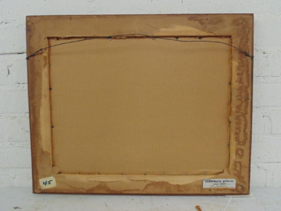 Painting, figures, street, signed Rosenstein (?) - 6