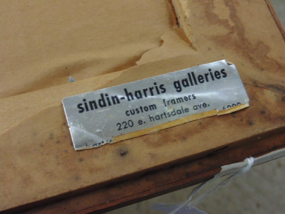 Painting, figures, street, signed Rosenstein (?) - 7