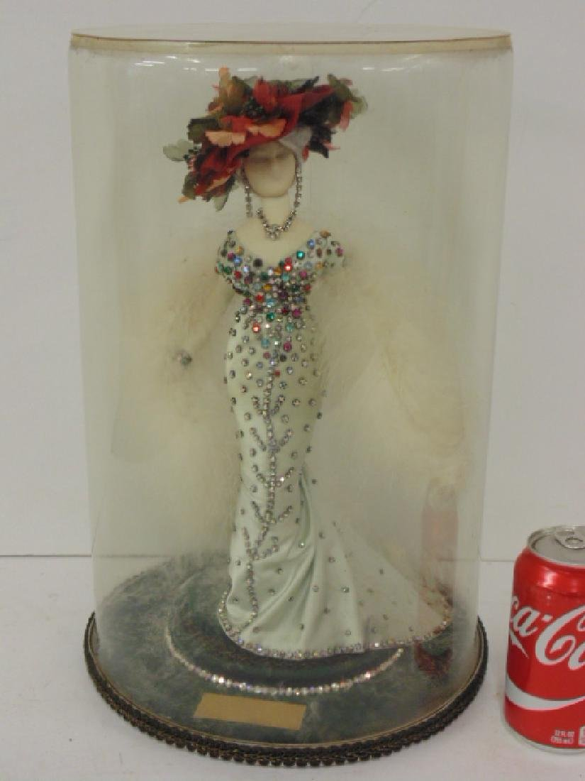 """Mae West doll, by France Rommel, """"She Done Him Wrong"""""""