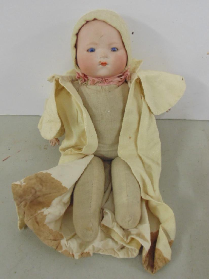 Bisque, porcelain doll, Armand Marseille