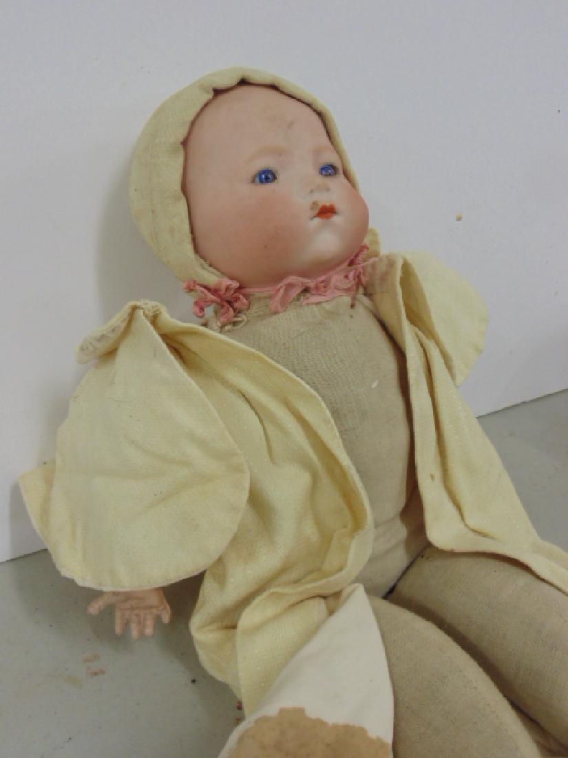 Bisque, porcelain doll, Armand Marseille - 2