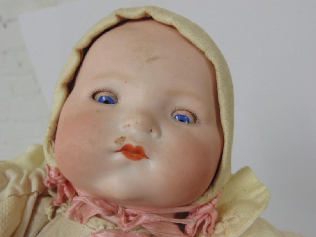 Bisque, porcelain doll, Armand Marseille - 3