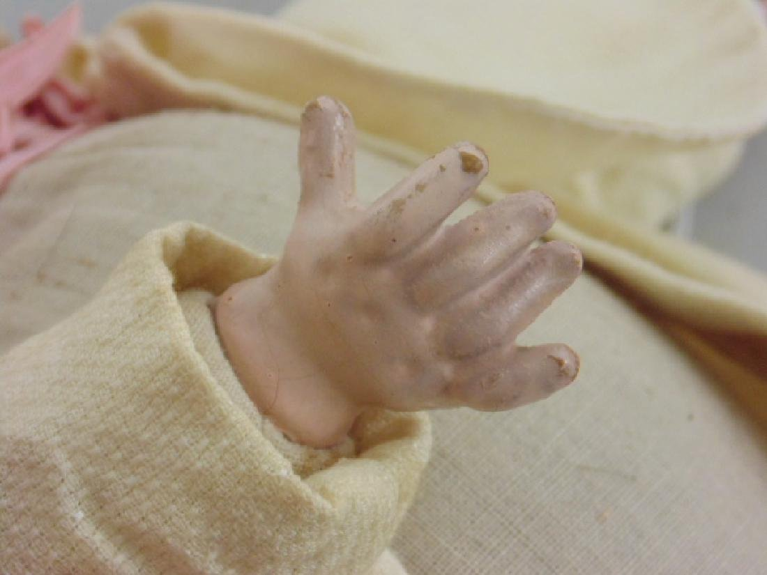 Bisque, porcelain doll, Armand Marseille - 5