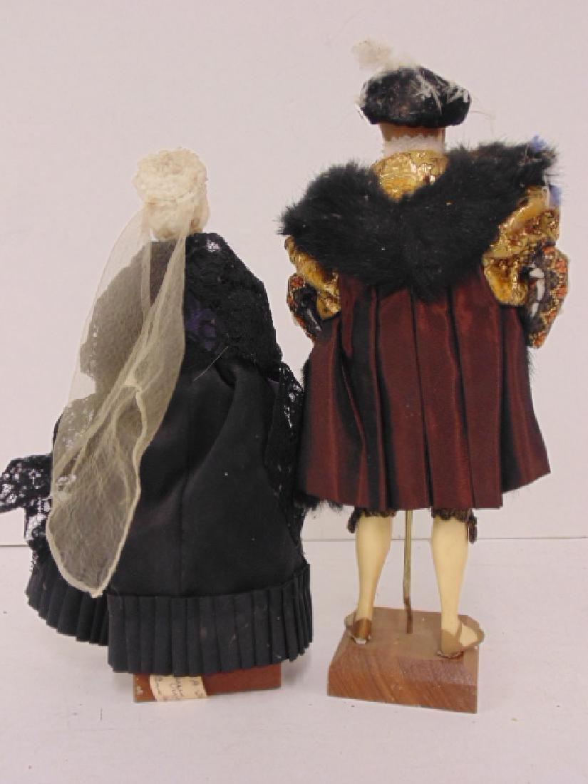 """2 Ann Parker dolls, """"Queen Victoria"""" & """"Henry VIII"""" - 4"""