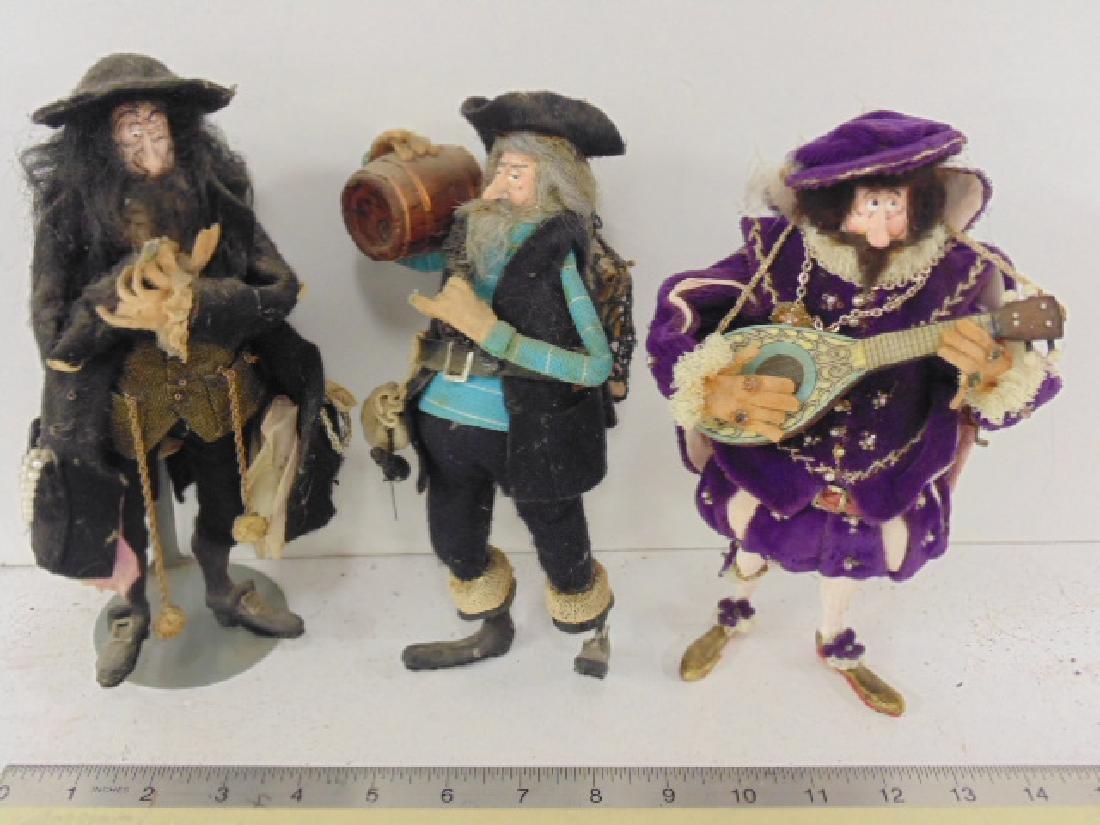 3 dolls by Lois (Luis ?) Bretton, I & F Craft
