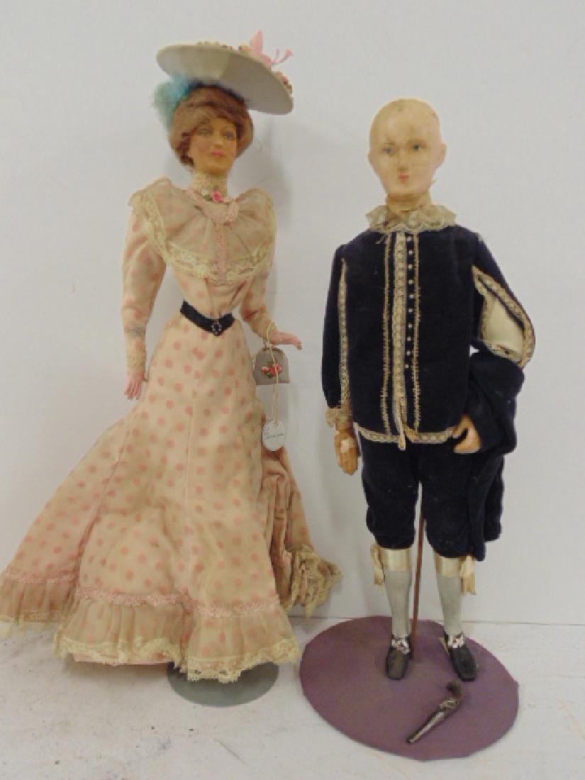 4 dolls by Helen Biggart, Lewis Sorensen, Helen McCook - 2