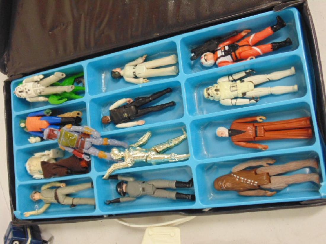 Vintage 870's Star Wars lot, Tie fighter, X Wing, hover - 2