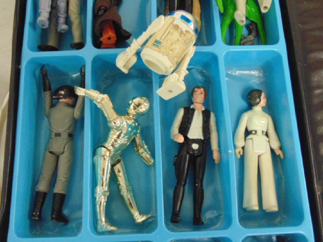 Vintage 870's Star Wars lot, Tie fighter, X Wing, hover - 3