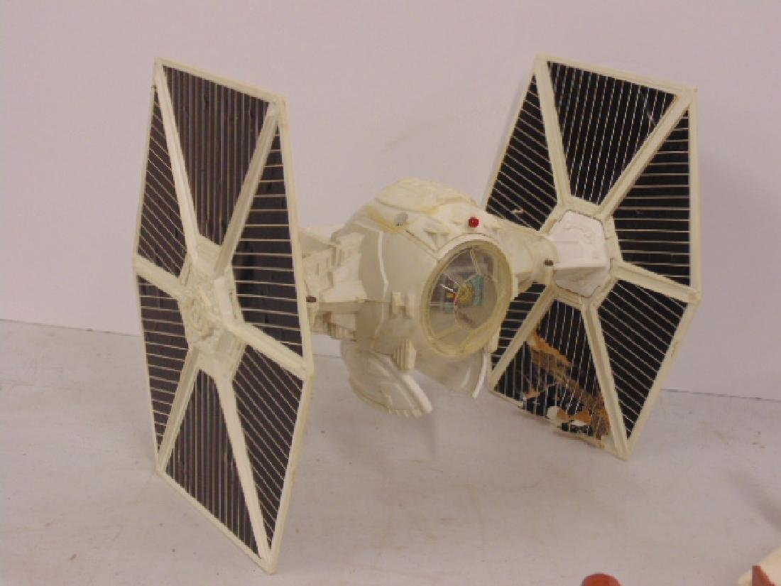 Vintage 870's Star Wars lot, Tie fighter, X Wing, hover - 5