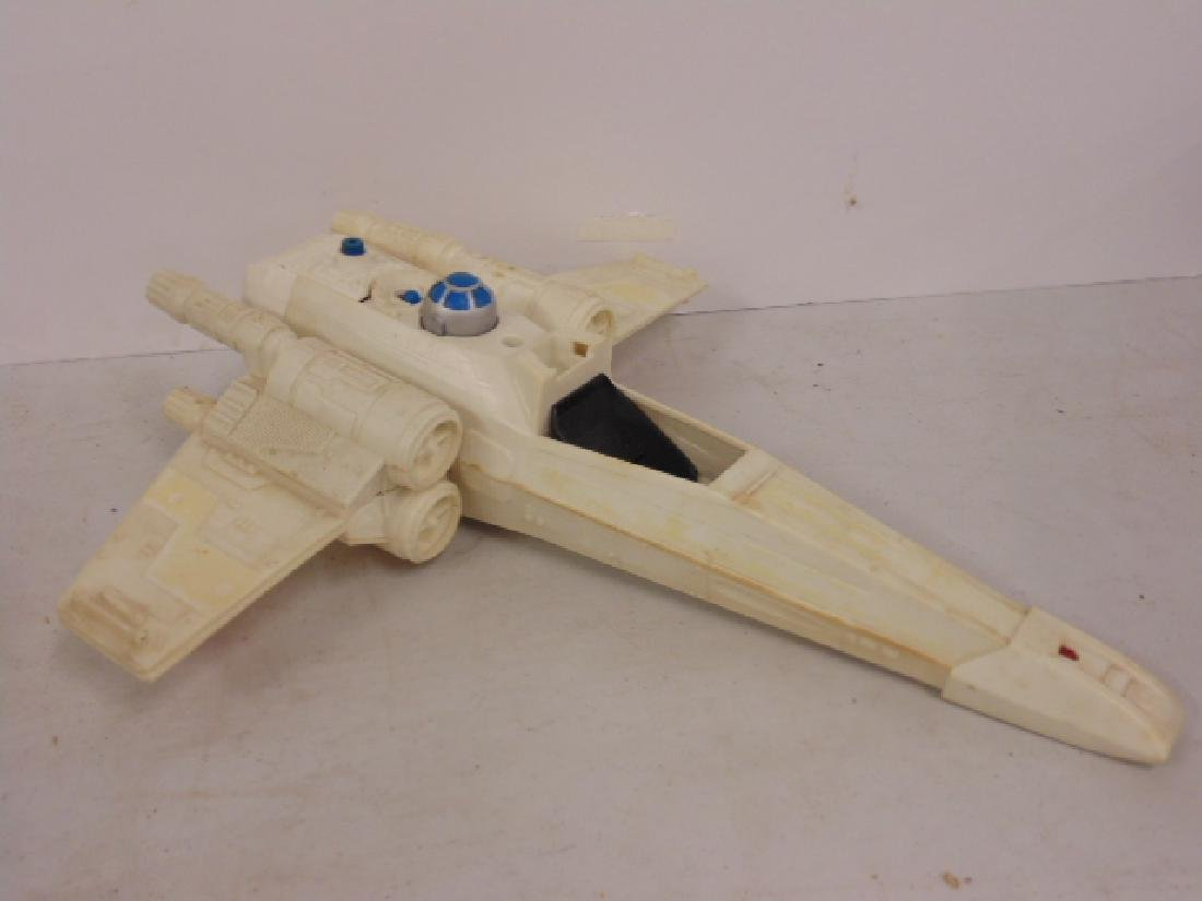 Vintage 870's Star Wars lot, Tie fighter, X Wing, hover - 6