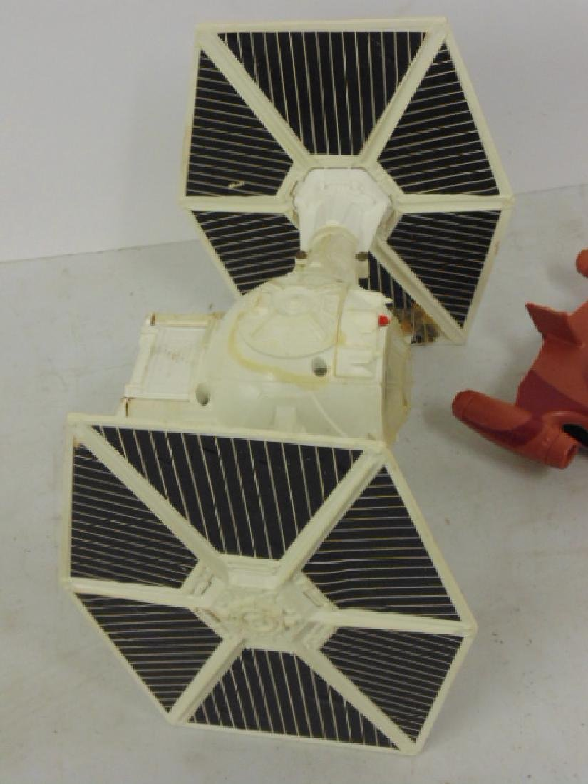 Vintage 870's Star Wars lot, Tie fighter, X Wing, hover - 8