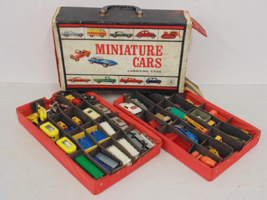 Lot 1960's toy cars, Matchbox by Lesney over 30 cars