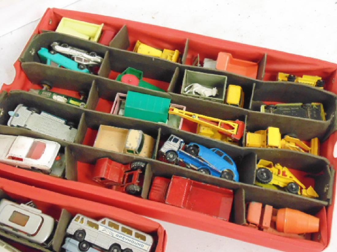 Lot 1960's toy cars, Matchbox by Lesney over 30 cars - 2