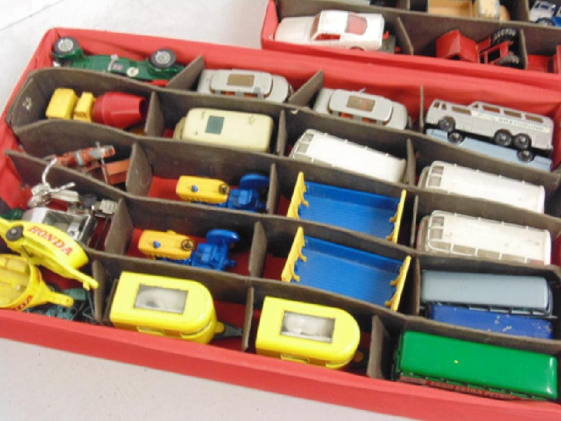 Lot 1960's toy cars, Matchbox by Lesney over 30 cars - 3