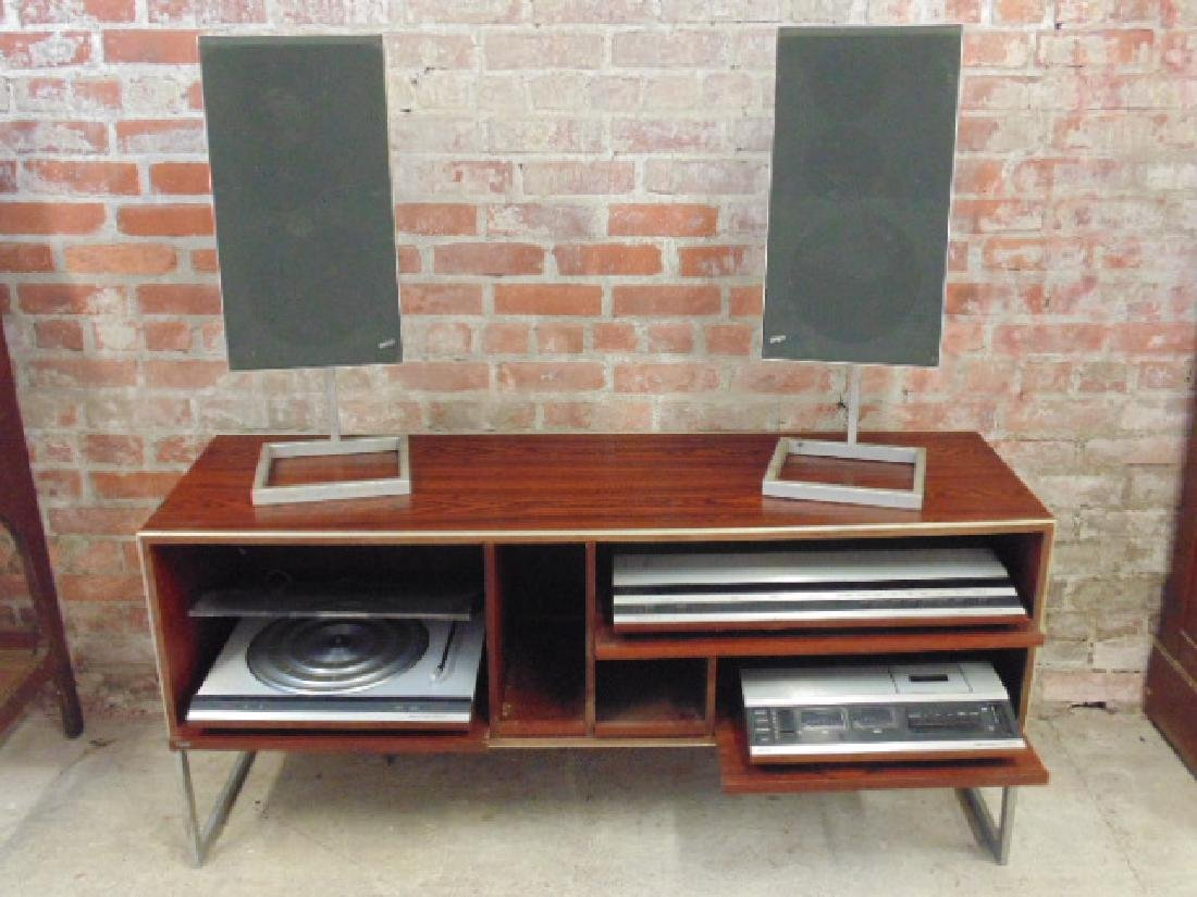 Bang & Olufsen stereo set in mid Century rosewood