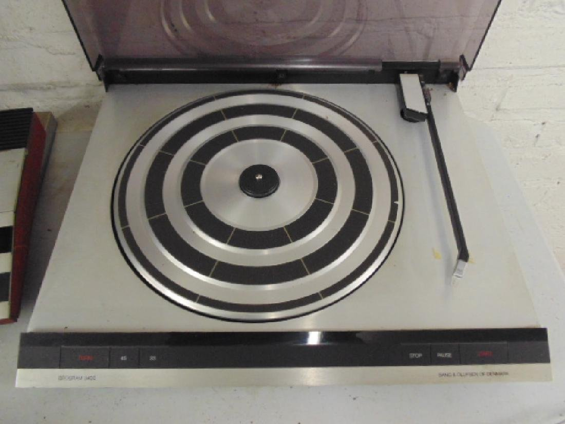 Bang & Olufsen stereo set in mid Century rosewood - 5