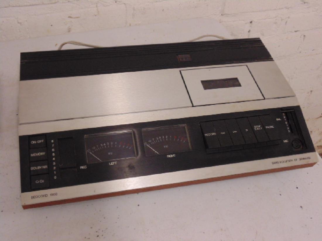 Bang & Olufsen stereo set in mid Century rosewood - 7