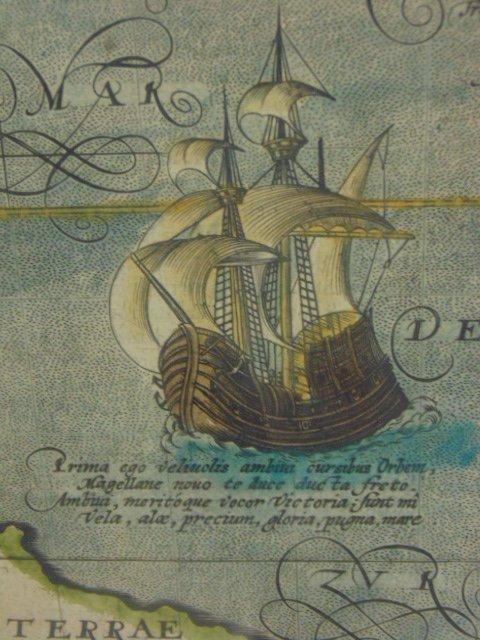 Antique map, south America, Peruvia id est, Novi Orbis - 4