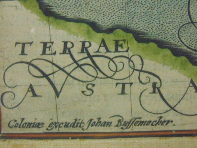 Antique map, south America, Peruvia id est, Novi Orbis - 5