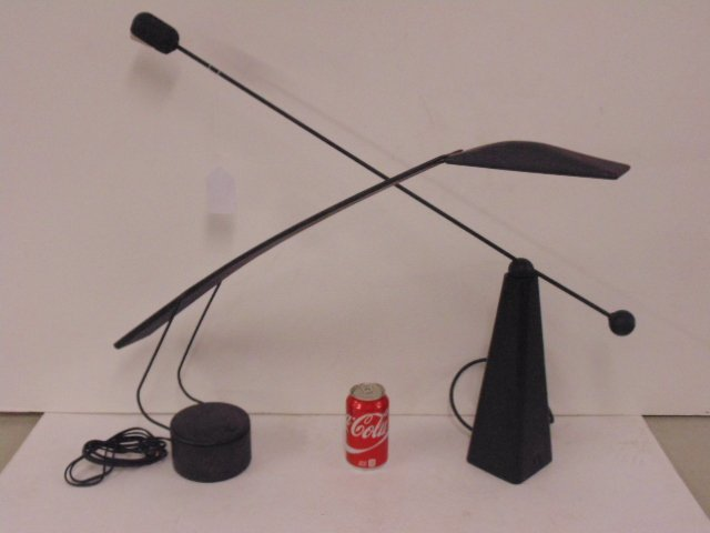 "2 contemporary desk lamps, ""Dove"" Mario Barbaglia"
