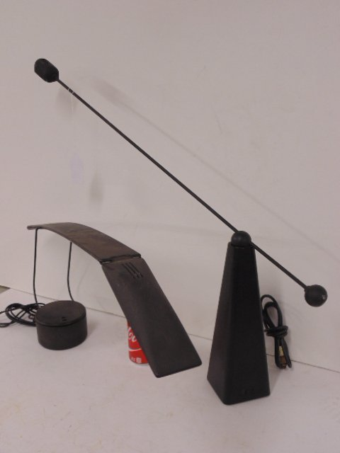 "2 contemporary desk lamps, ""Dove"" Mario Barbaglia - 3"