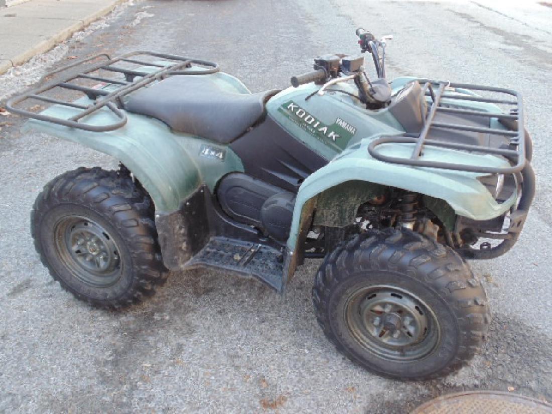 Yamaha Kodiak 450 utility ATV 4x4