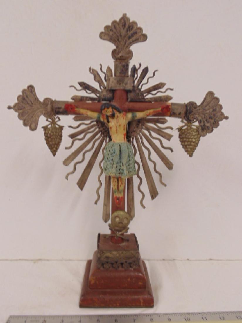 Latin American Santos,  Jesus on the cross