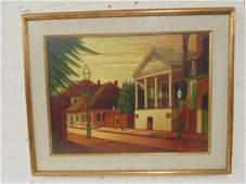 "Painting, ""Beauregarde House, New Orleans, Larry"