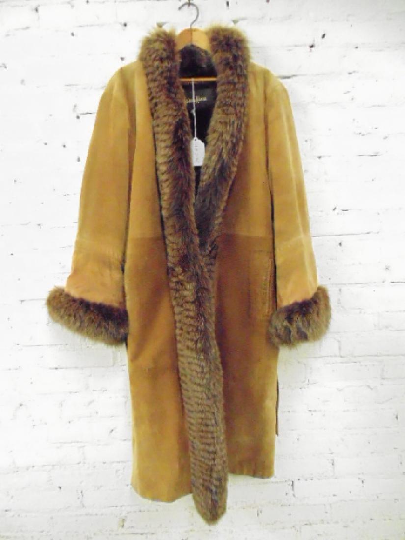Yves Saint Laurent for Neiman Marcus vintage fur &