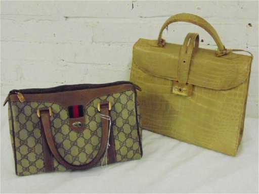1bc3fa5eee3 2 Vintage Gucci bags