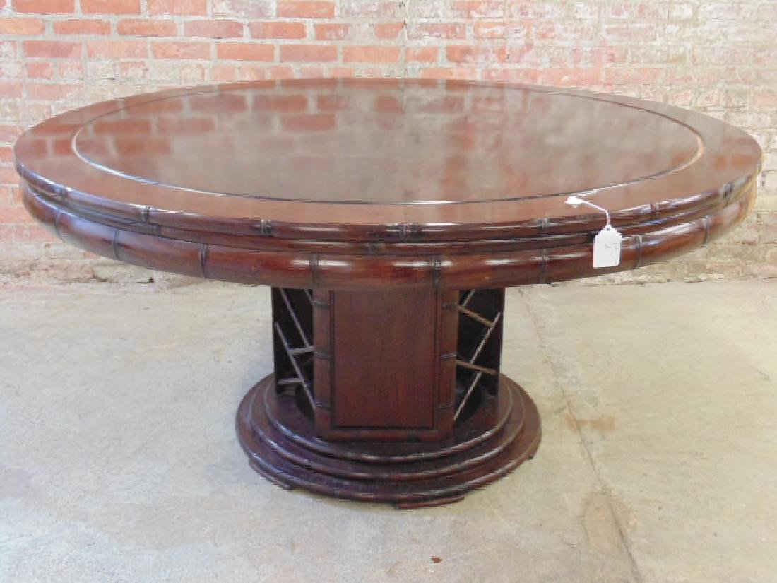 Asian rosewood center table
