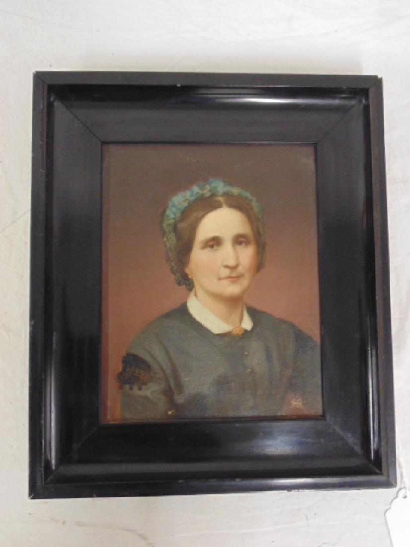 Painting, portrait of Wilhelmina Dorothea Maria Heye