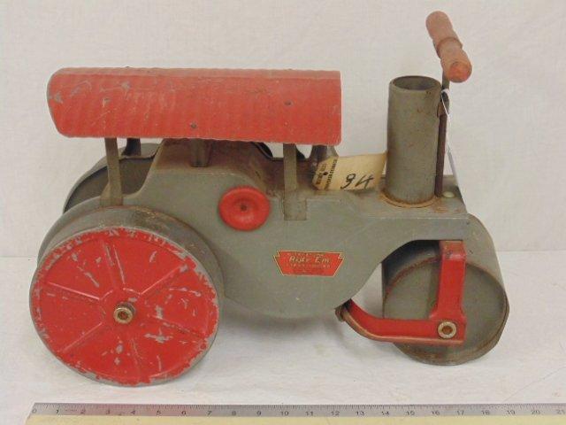 "Keystone ""Ride'Em"" toy riding steamroller, Boston, Mass"