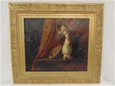 Painting, still life, high quality,  P. Dechaux canvas