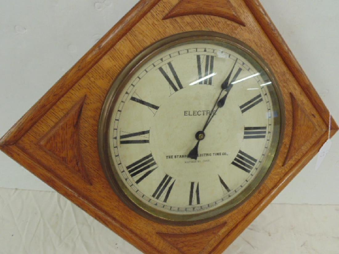 The Standard Electric Time Co. Clock - 2