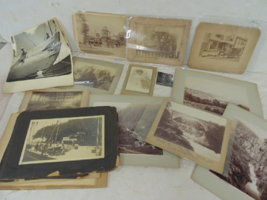 Photograph lot, late 19th & early 20th Century