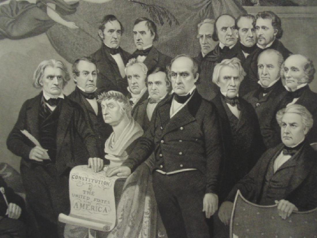 "Engraving, ""Union"", by Henry S. Sadd after a painting - 3"