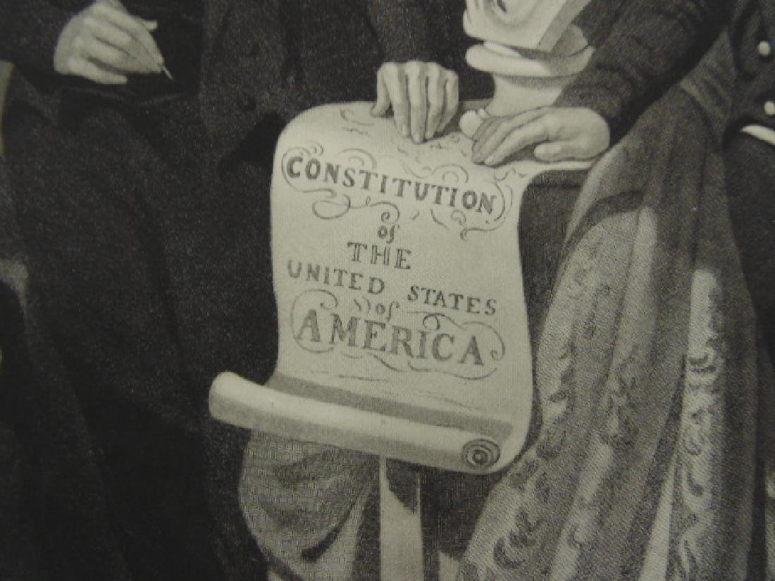 "Engraving, ""Union"", by Henry S. Sadd after a painting - 5"