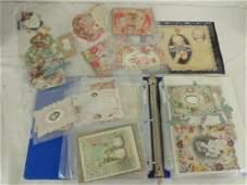 Vintage Valentine card album contains various