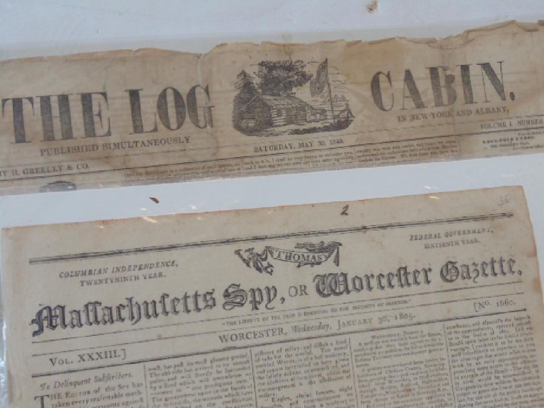 Lot magazines and papers, early 19th Century incl. - 2
