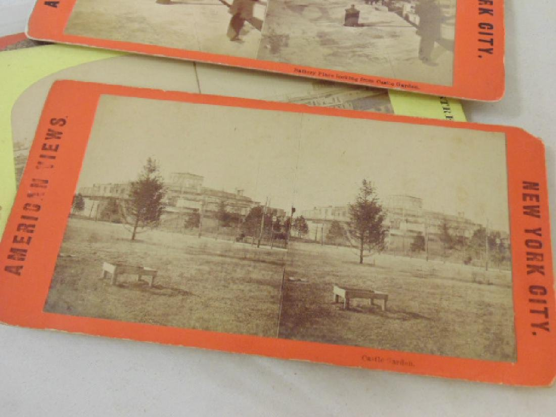 Huge lot stereoscopic cards & viewers, many early New - 5