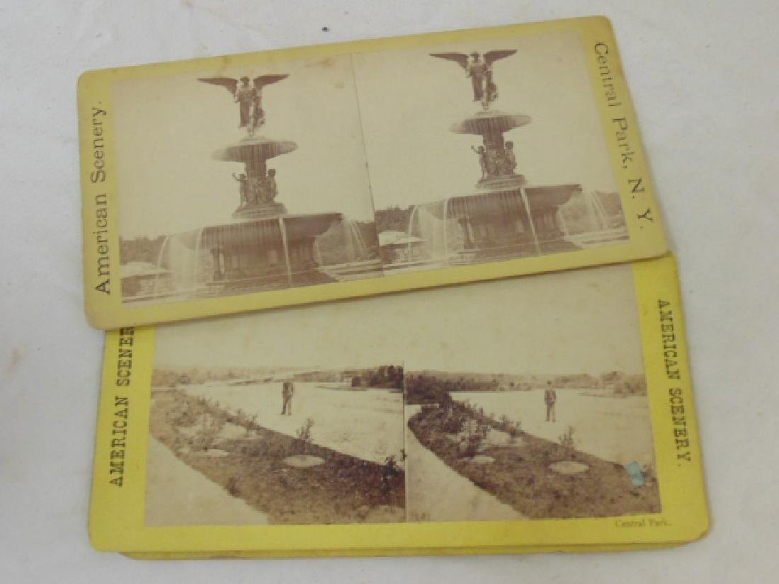 Huge lot stereoscopic cards & viewers, many early New - 6