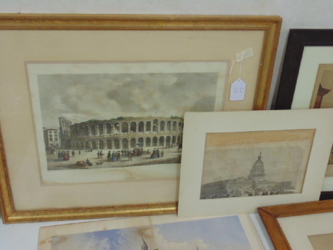 Lot lithos, photos & engravings, Columbia Expo, Capitol - 2